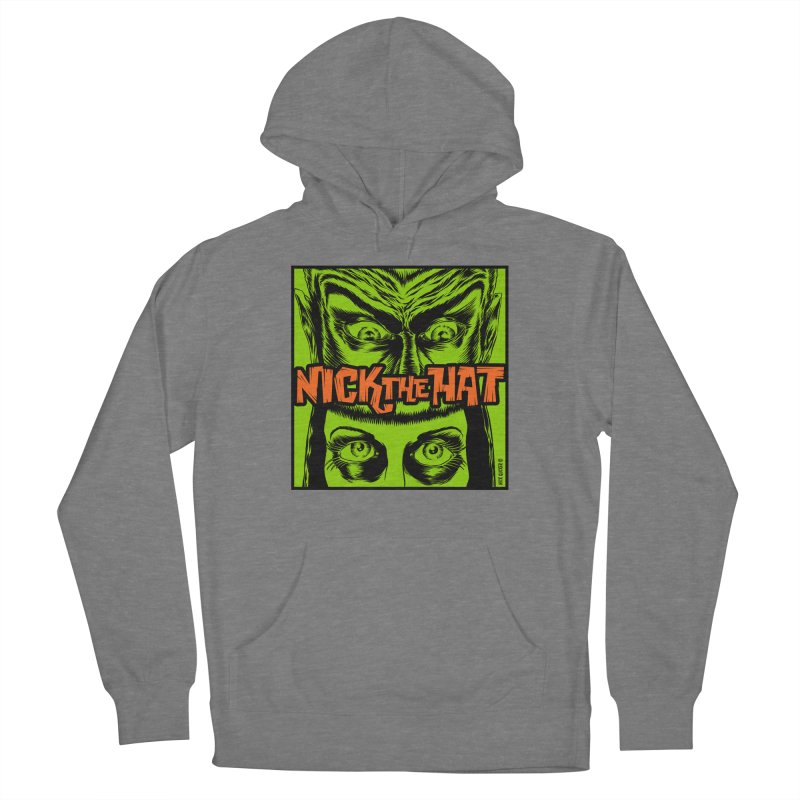 """Nick the Hat """"Sinister Eyes"""" Men's Pullover Hoody by Nick the Hat"""