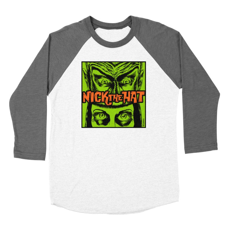 "Nick the Hat ""Sinister Eyes"" Women's Longsleeve T-Shirt by Nick the Hat"
