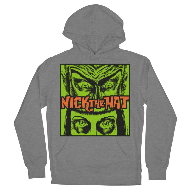"""Nick the Hat """"Sinister Eyes"""" Women's Pullover Hoody by Nick the Hat"""