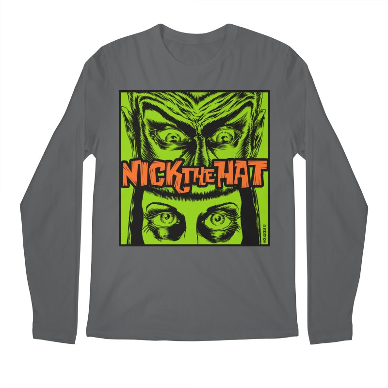 "Nick the Hat ""Sinister Eyes"" Men's Longsleeve T-Shirt by Nick the Hat"