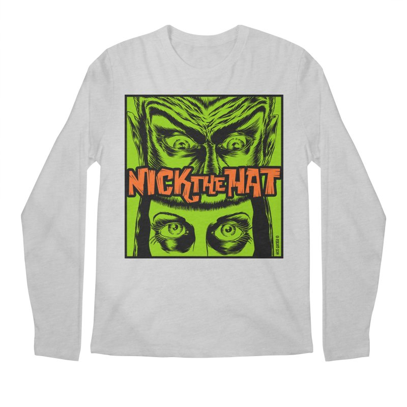 """Nick the Hat """"Sinister Eyes"""" Men's Longsleeve T-Shirt by Nick the Hat"""