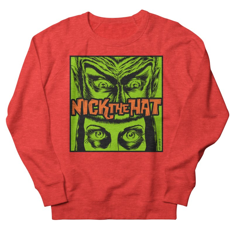 """Nick the Hat """"Sinister Eyes"""" Men's Sweatshirt by Nick the Hat"""