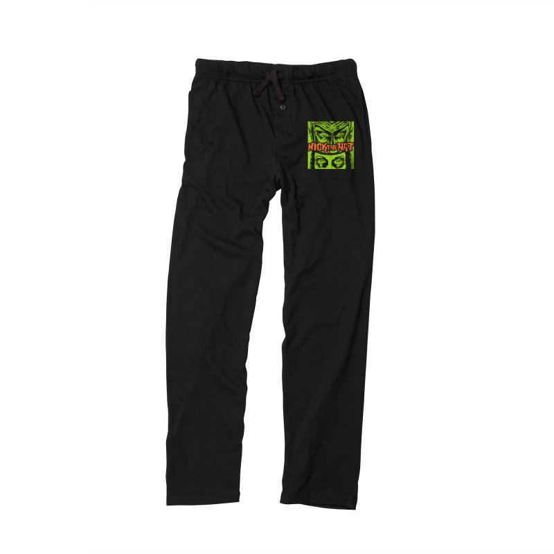 "Nick the Hat ""Sinister Eyes"" Men's Lounge Pants by Nick the Hat"