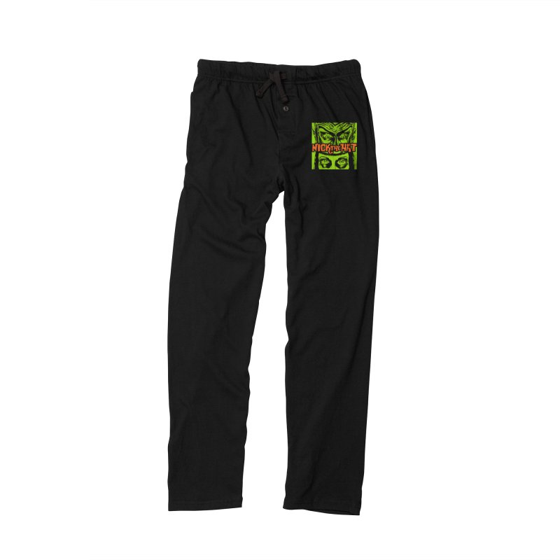 """Nick the Hat """"Sinister Eyes"""" Men's Lounge Pants by Nick the Hat"""