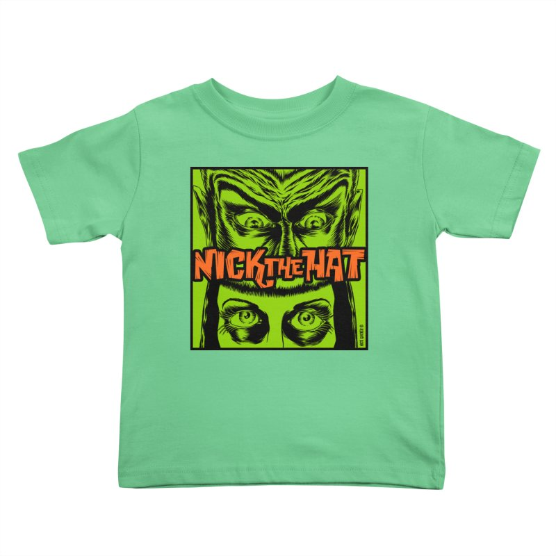 """Nick the Hat """"Sinister Eyes"""" Kids Toddler T-Shirt by Nick the Hat"""