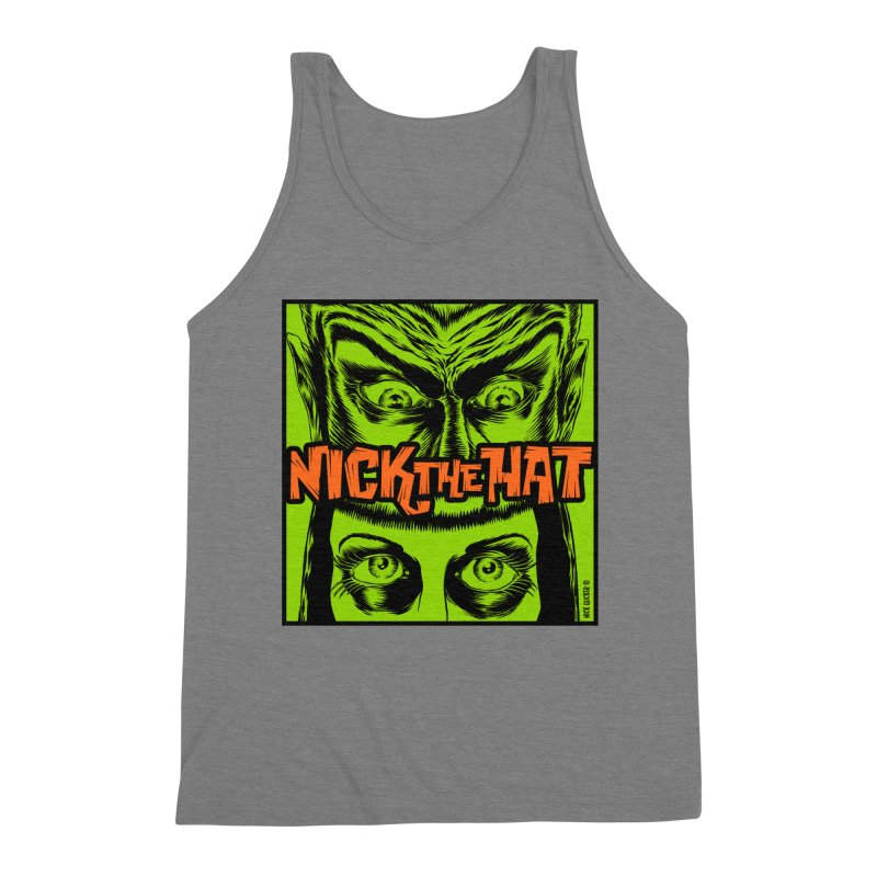 """Nick the Hat """"Sinister Eyes"""" Men's Tank by Nick the Hat"""