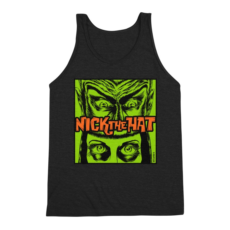 "Nick the Hat ""Sinister Eyes"" Men's Tank by Nick the Hat"