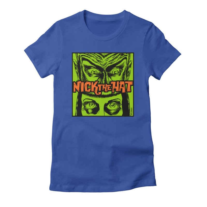 """Nick the Hat """"Sinister Eyes"""" Women's T-Shirt by Nick the Hat"""