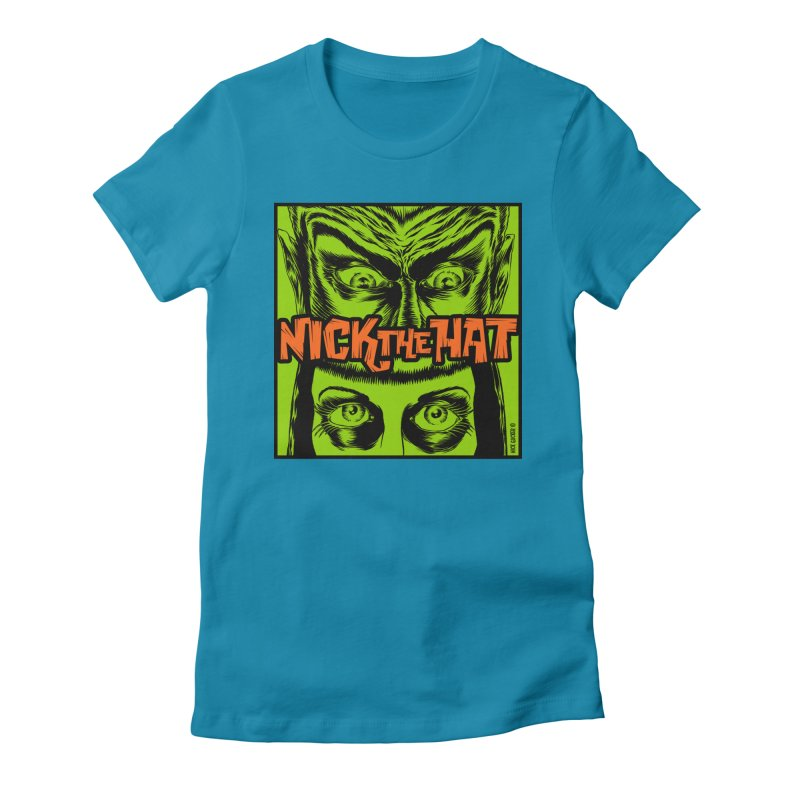 "Nick the Hat ""Sinister Eyes"" Women's T-Shirt by Nick the Hat"