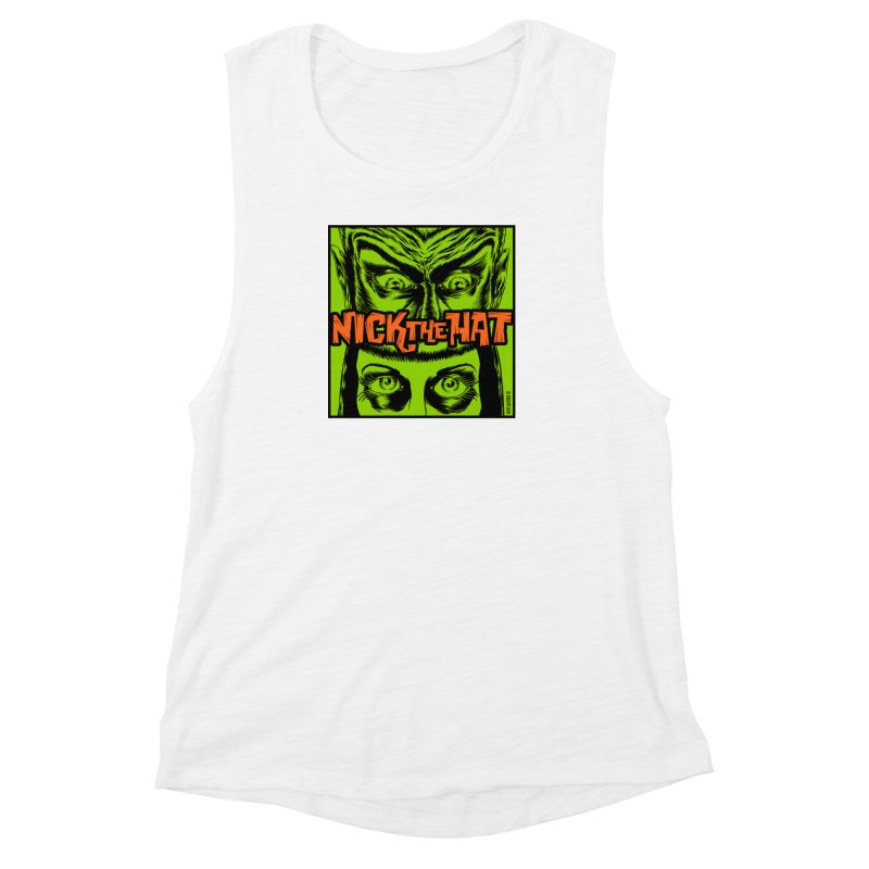 "Nick the Hat ""Sinister Eyes"" Women's Tank by Nick the Hat"