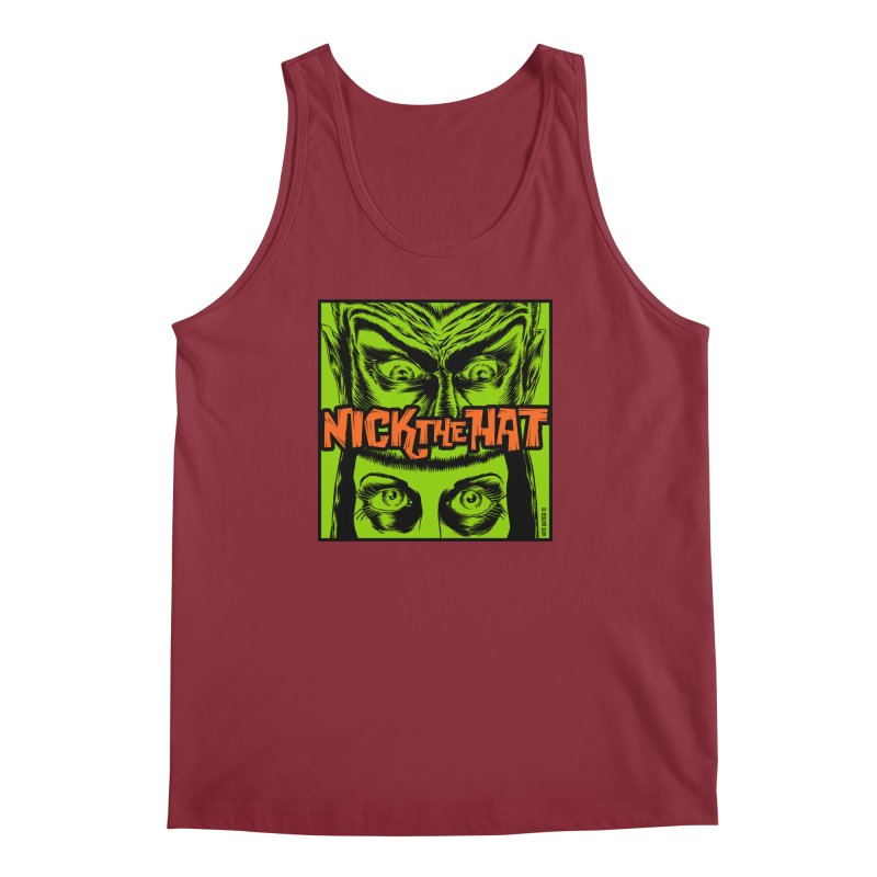 "Nick the Hat ""Sinister Eyes"" Men's Regular Tank by Nick the Hat"