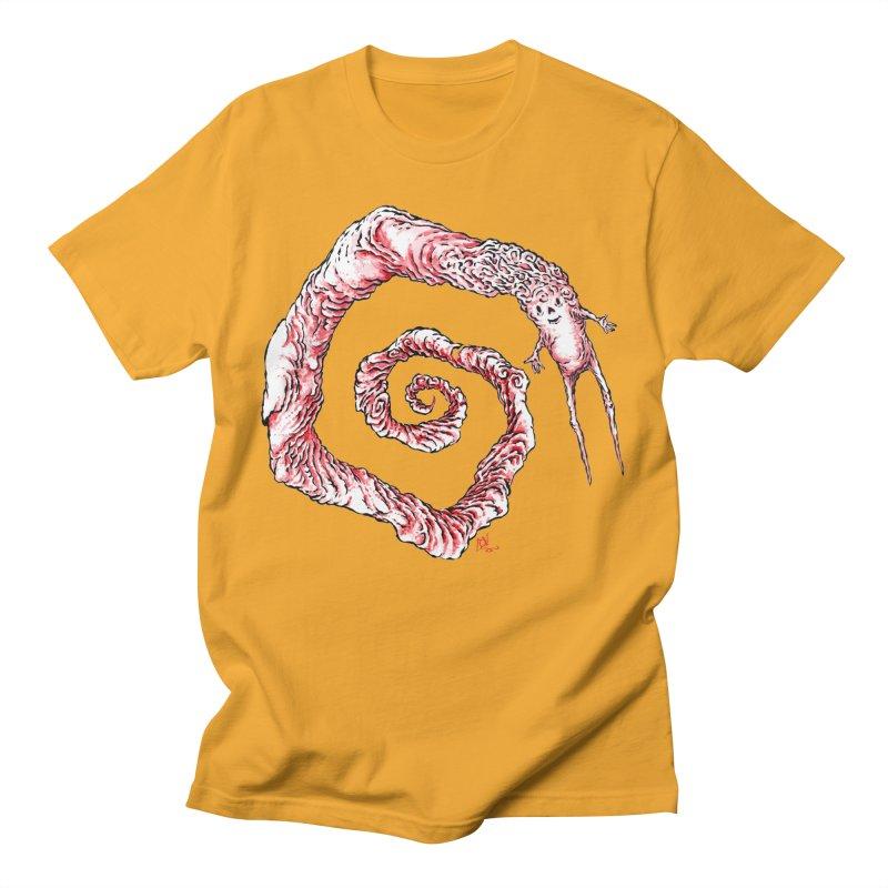 Spiral Joy Men's T-Shirt by Nick the Hat