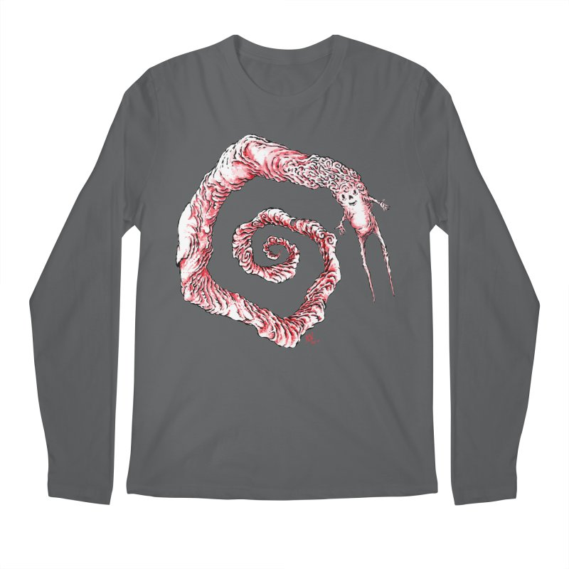 Spiral Joy Men's Longsleeve T-Shirt by Nick the Hat