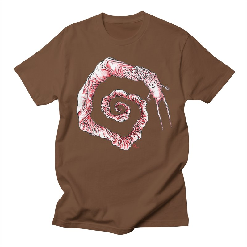 Spiral Joy Men's T-Shirt by Nick the Hat