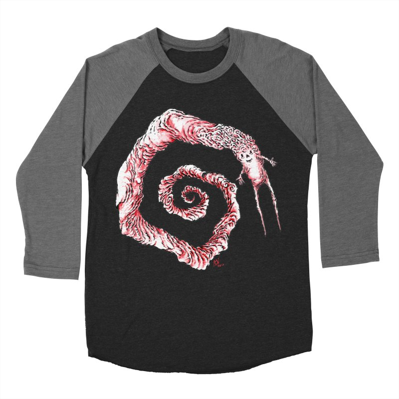 Spiral Joy Men's Baseball Triblend T-Shirt by Nick the Hat
