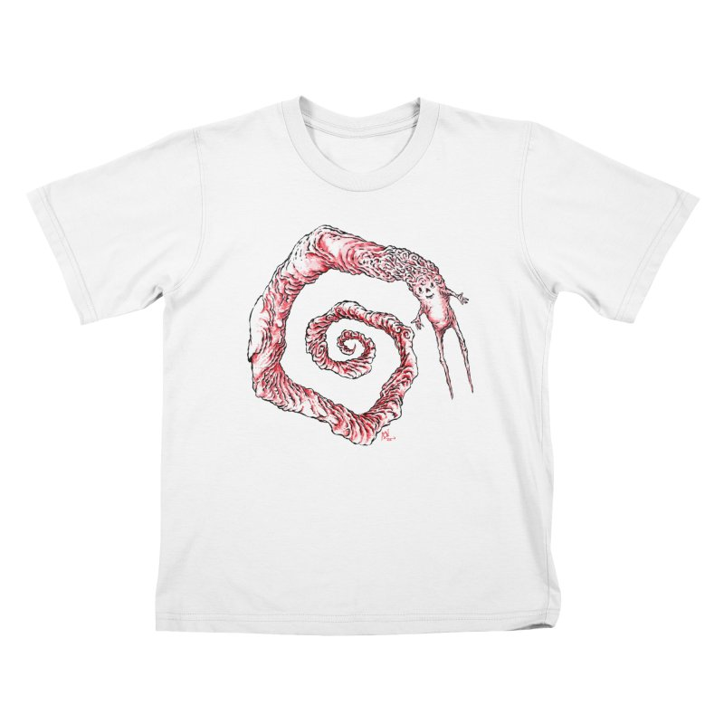Spiral Joy Kids T-Shirt by Nick the Hat