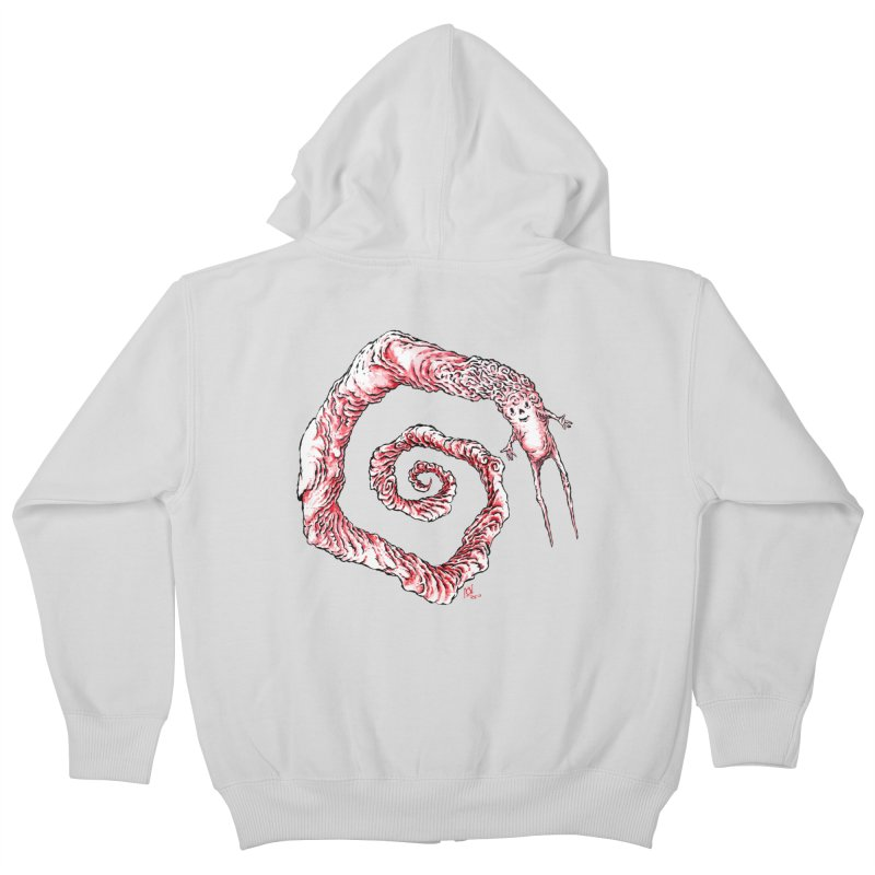 Spiral Joy Kids Zip-Up Hoody by Nick the Hat