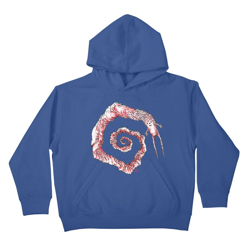 Spiral Joy Kids Pullover Hoody by Nick the Hat