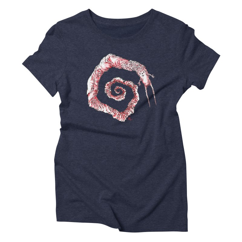 Spiral Joy Women's T-Shirt by Nick the Hat