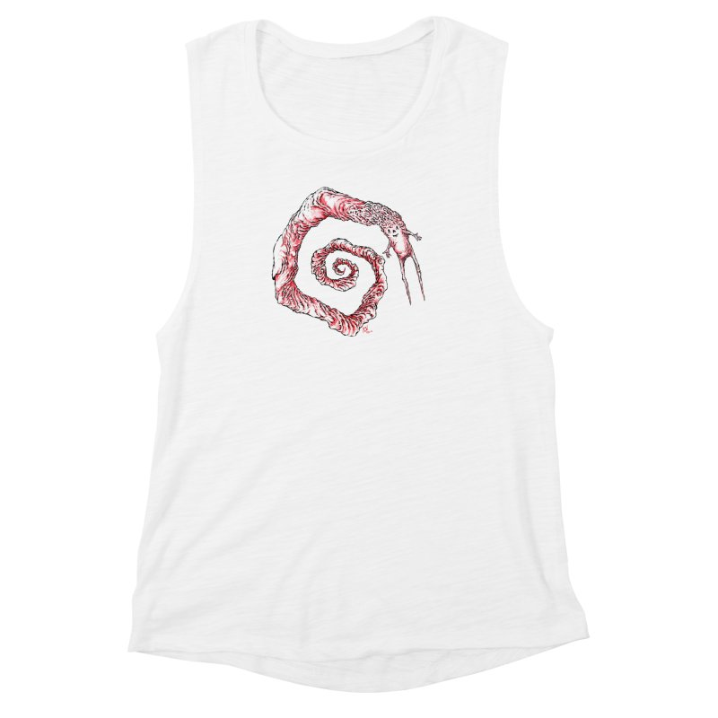 Spiral Joy Women's Muscle Tank by Nick the Hat