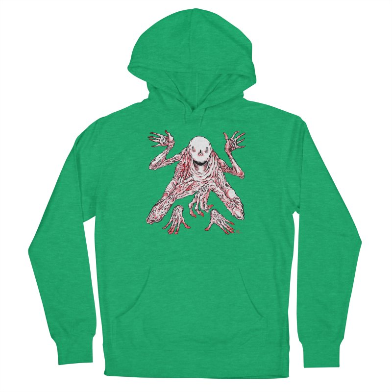 Slight of Hand(s) Women's Pullover Hoody by Nick the Hat