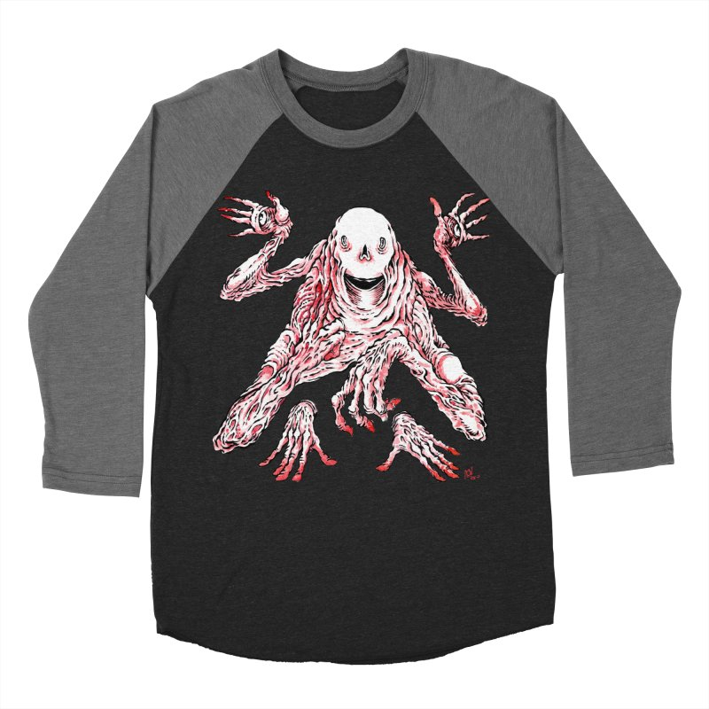Slight of Hand(s) Men's Baseball Triblend T-Shirt by Nick the Hat