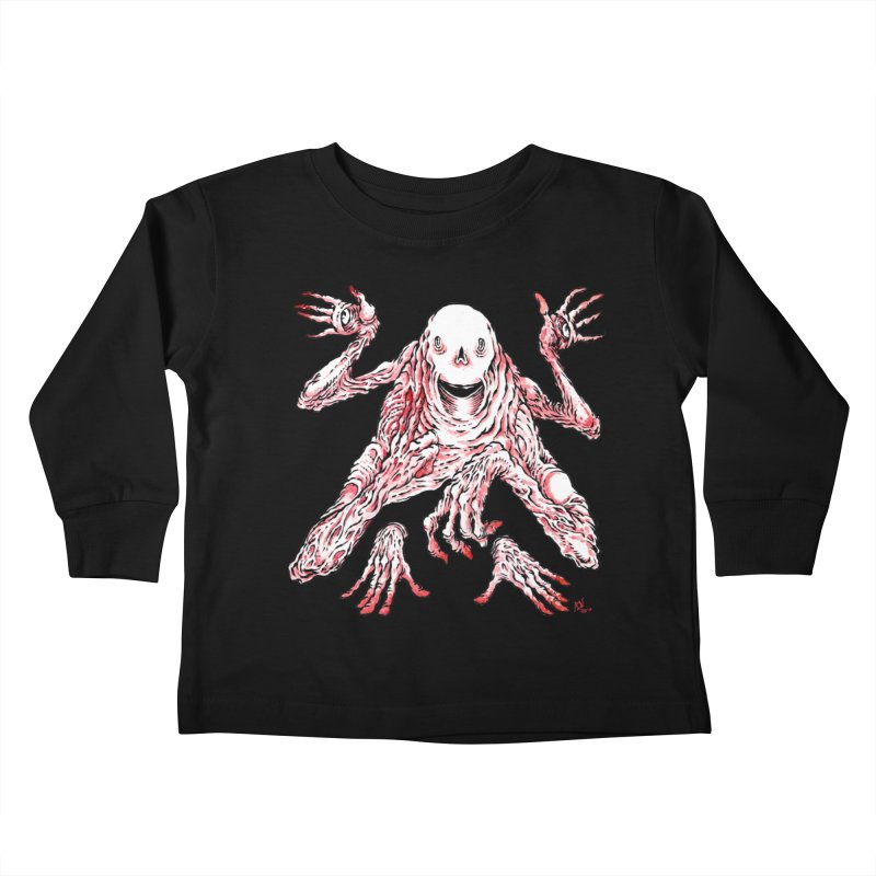 Slight of Hand(s) Kids Toddler Longsleeve T-Shirt by Nick the Hat