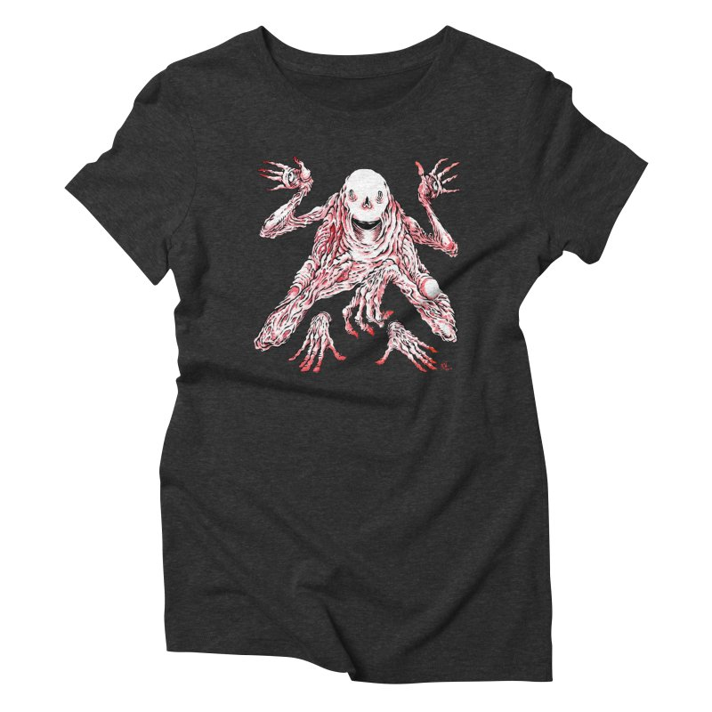 Slight of Hand(s) Women's Triblend T-Shirt by Nick the Hat