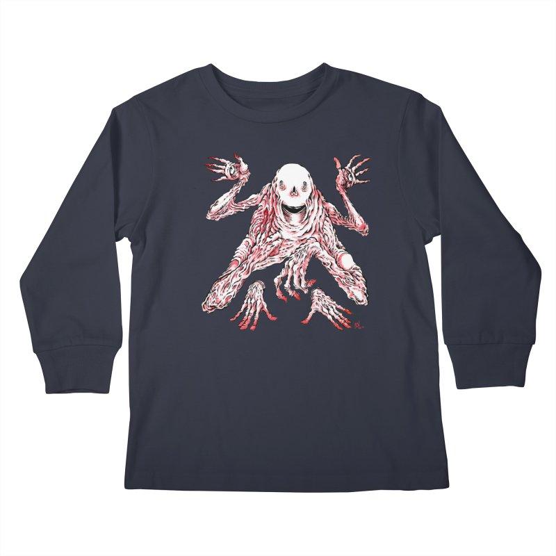Slight of Hand(s) Kids Longsleeve T-Shirt by Nick the Hat