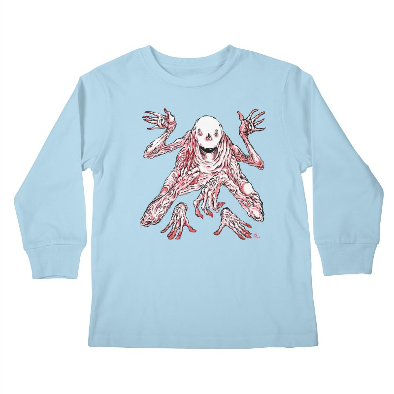 Slight of Hand(s) Kids Longsleeve T-Shirt by Nick the Hat