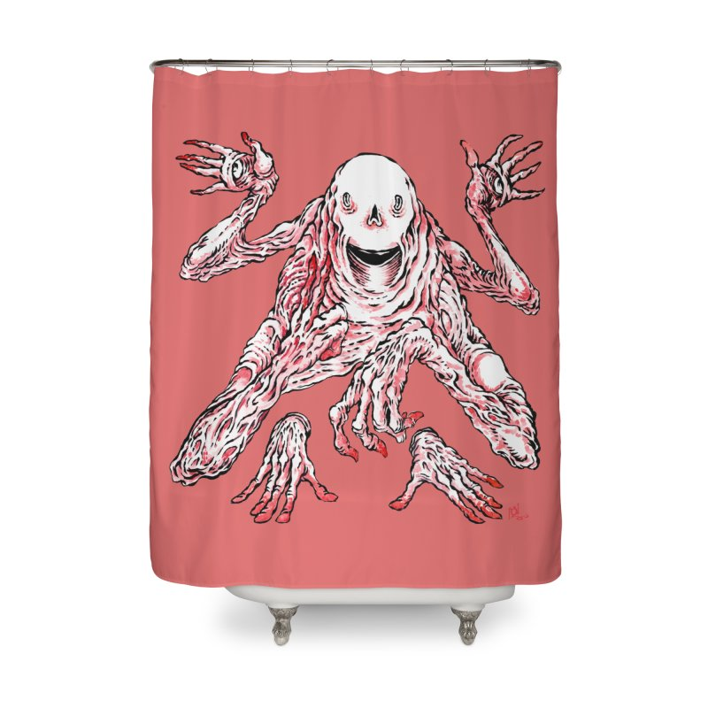 Slight of Hand(s) Home Shower Curtain by Nick the Hat