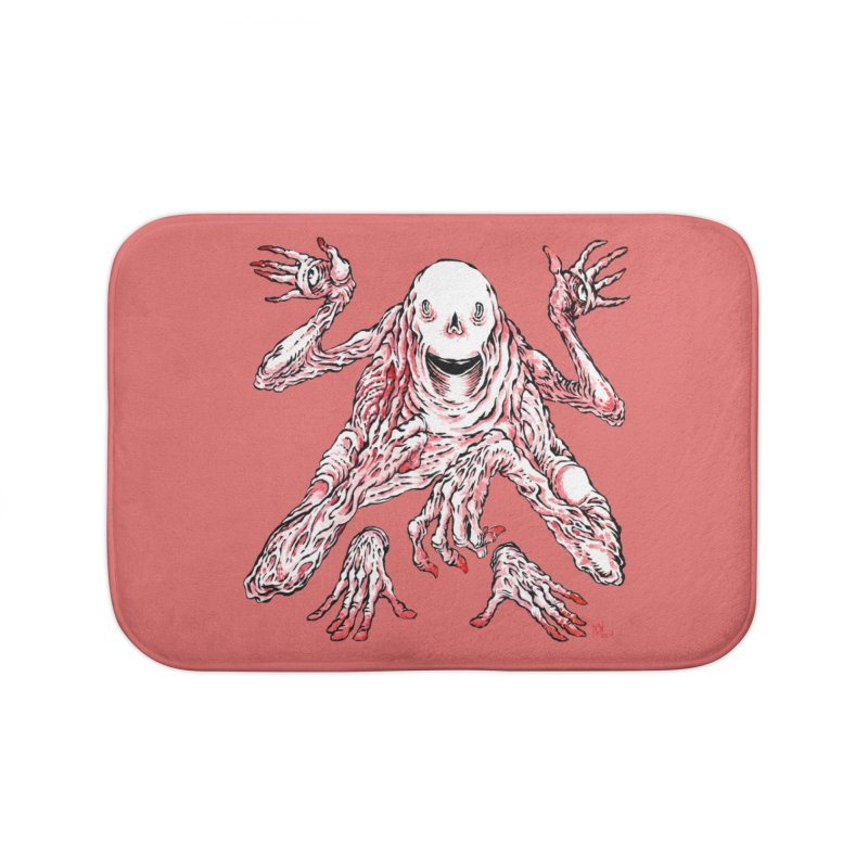 Slight of Hand(s) Home Bath Mat by Nick the Hat
