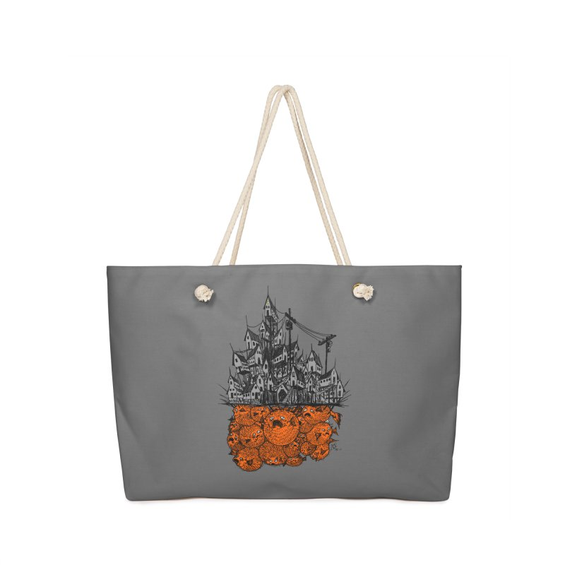 Pufferfish City Accessories Bag by Nick the Hat