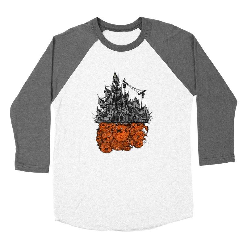 Pufferfish City Women's Longsleeve T-Shirt by Nick the Hat