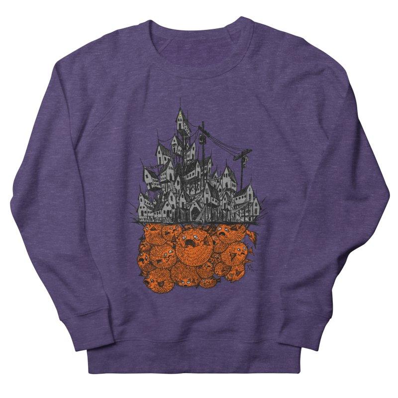 Pufferfish City Women's Sweatshirt by Nick the Hat