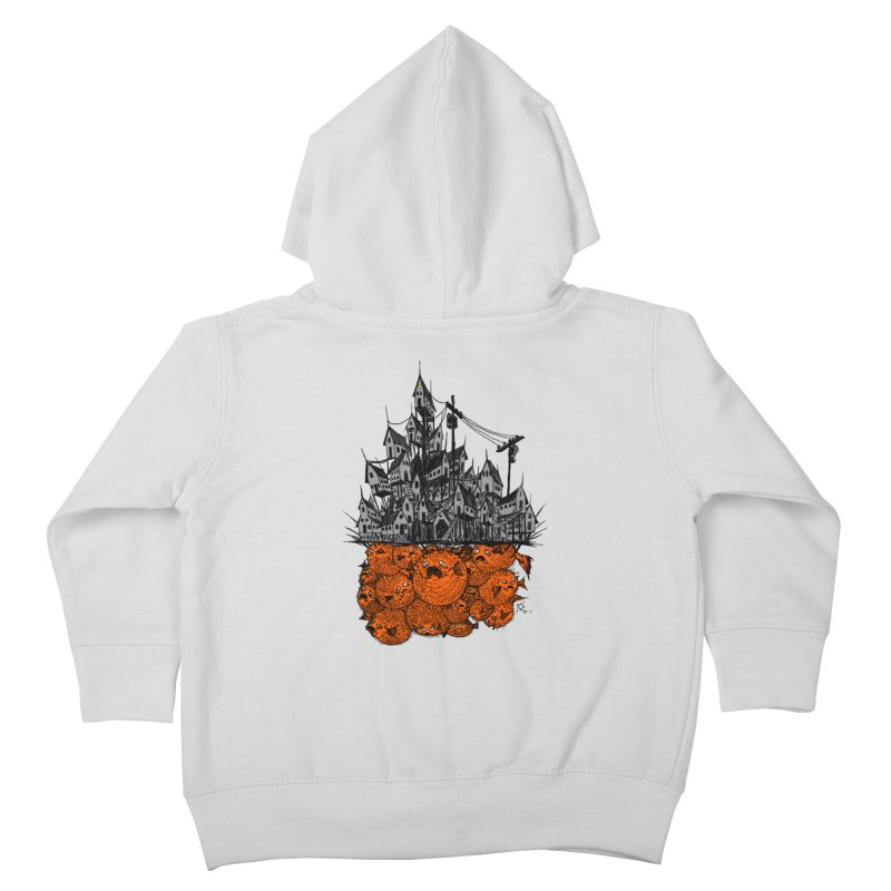 Pufferfish City Kids Toddler Zip-Up Hoody by Nick the Hat
