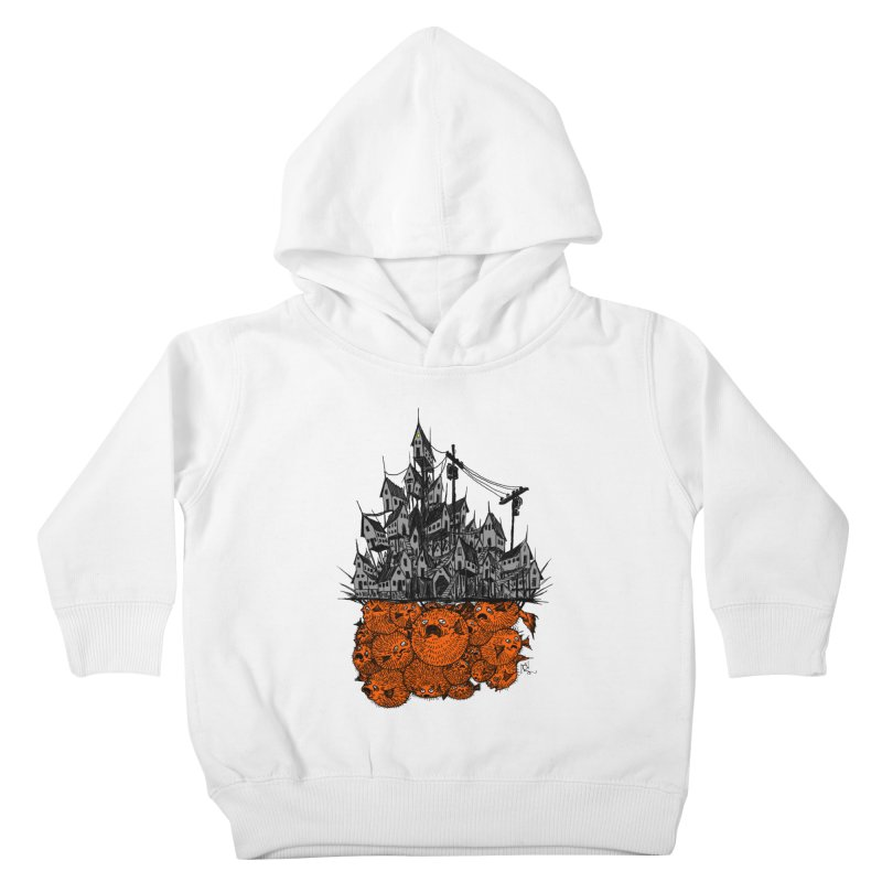 Pufferfish City Kids Toddler Pullover Hoody by Nick the Hat
