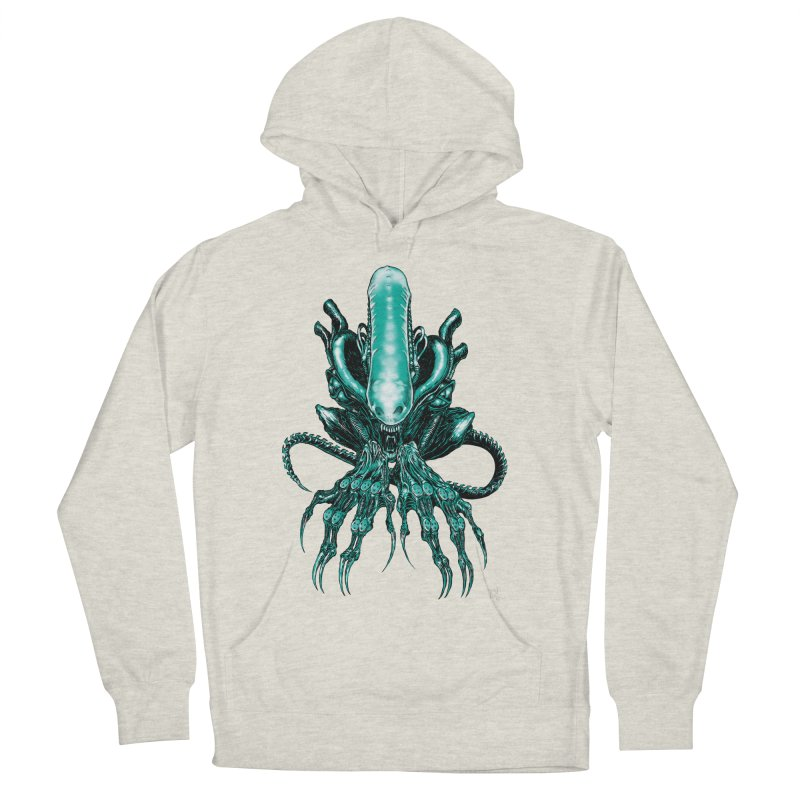 Xenomorph Women's Pullover Hoody by Nick the Hat