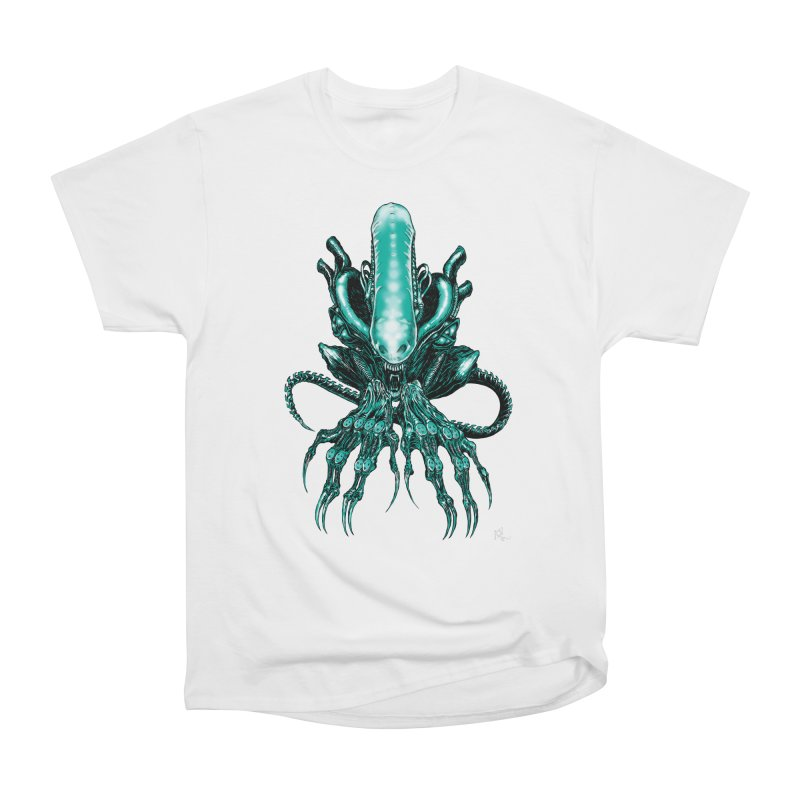 Xenomorph Men's Heavyweight T-Shirt by Nick the Hat