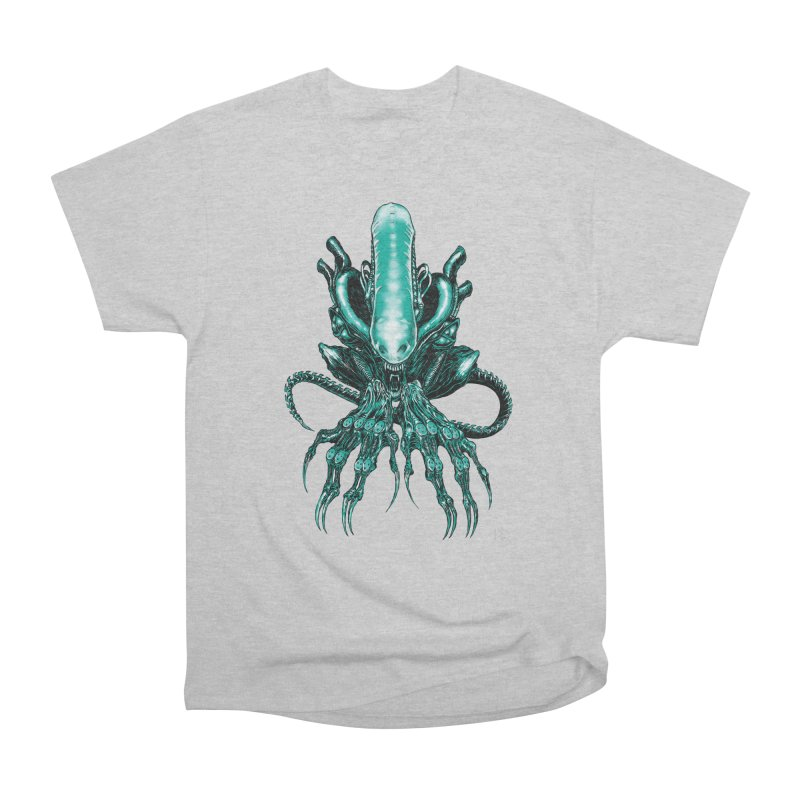 Xenomorph Men's T-Shirt by Nick the Hat