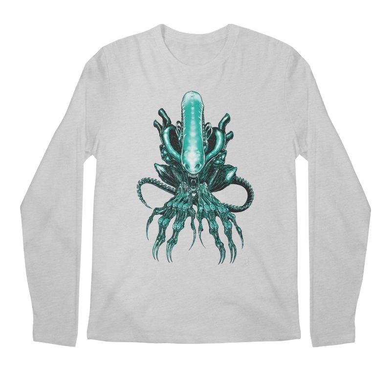 Xenomorph Men's Longsleeve T-Shirt by Nick the Hat