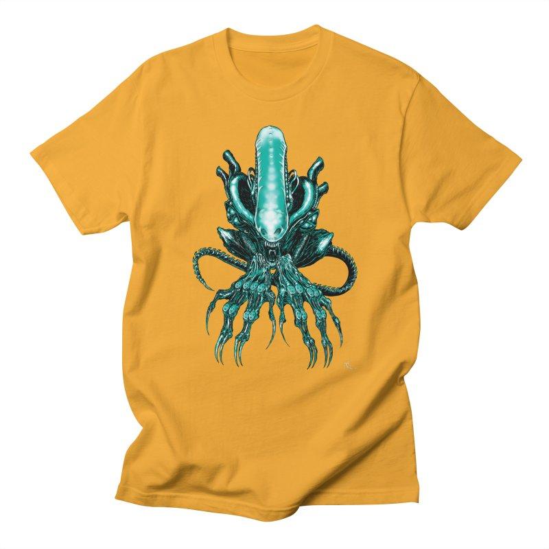Xenomorph Men's Regular T-Shirt by Nick the Hat