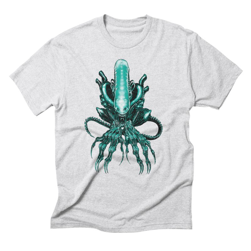 Xenomorph Men's Triblend T-Shirt by Nick the Hat