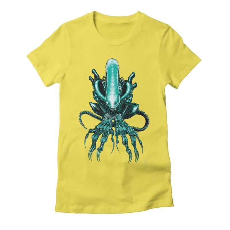 Xenomorph Women's T-Shirt by Nick the Hat