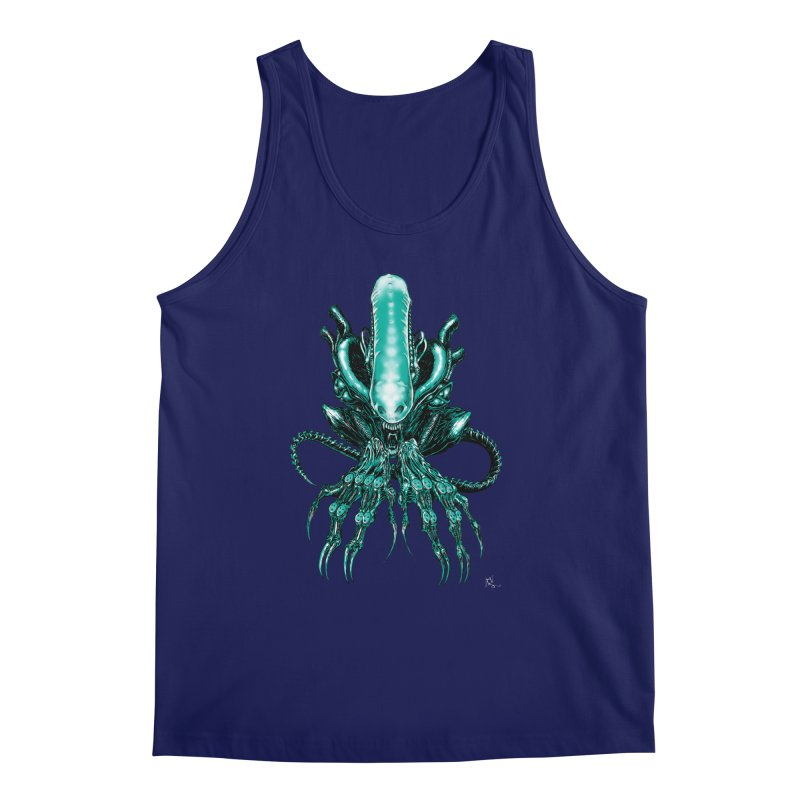 Xenomorph Men's Regular Tank by Nick the Hat