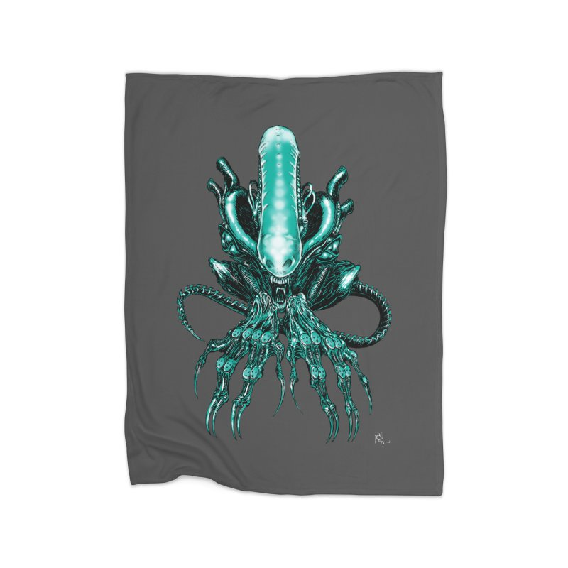 Xenomorph Home Blanket by Nick the Hat