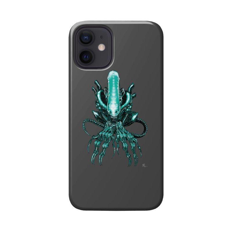Xenomorph Accessories Phone Case by Nick the Hat