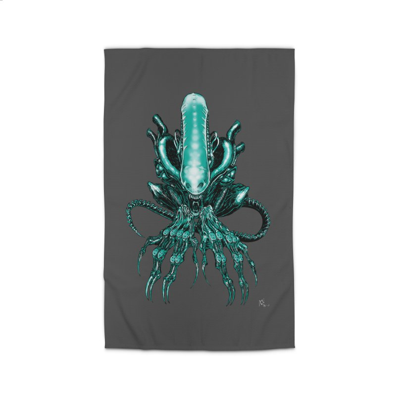 Xenomorph Home Rug by Nick the Hat