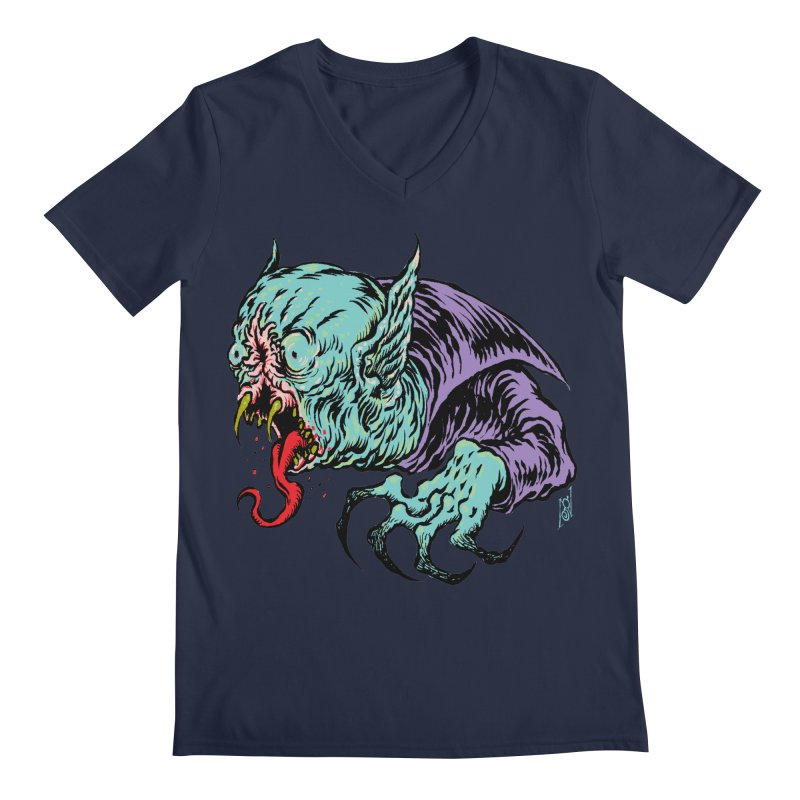 Blood Sucking Freak Men's V-Neck by Nick the Hat