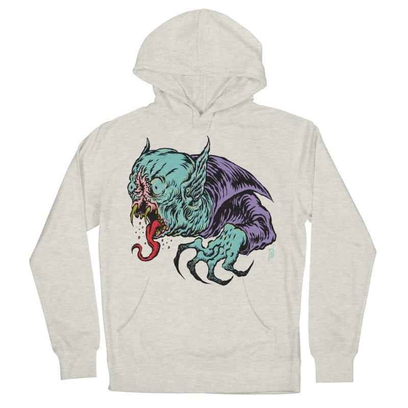 Blood Sucking Freak Women's French Terry Pullover Hoody by Nick the Hat